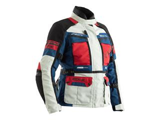 RST Adventure CE Textile Jacket Ice/Blue/Red Size M Women - 814000189869