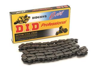 Chaîne de transmission D.I.D 630 V noir/noir 88 maillons