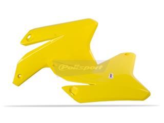 Ouïes de radiateur POLISPORT jaune Suzuki RM-Z450 - 784114YW