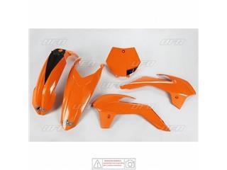 Kit plastiques UFO orange fluo KTM SX85  - 78543954