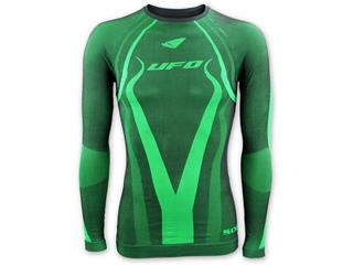 UFO Atrax Undershirt with Back Protector Green Size S/M - 7cd93489-3184-4778-ad6f-866d7736541c