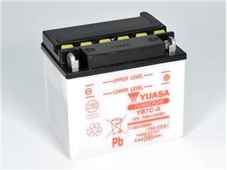 Batterie YUASA YB7C-A conventionnelle