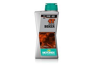 Huile Moteur MOTOREX Boxer 4T 5W40 100% synthétique 1L
