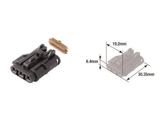 TOURMAX Electrical Male Coupler Waterproof Type 070 (FRY)