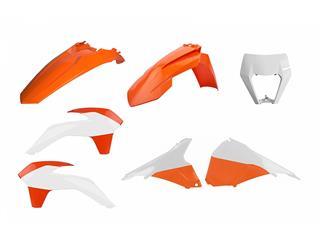 Kit plastique POLISPORT Enduro Restyle couleur origine KTM EXC/EXC-F