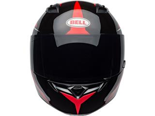 BELL Qualifier Helmet Flare Gloss Black/Red Size M - 7d344702-91ef-4a29-8430-cf5b6fb969dc