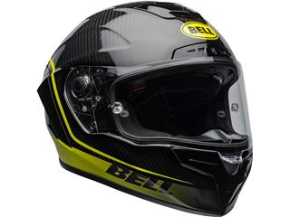 BELL Race Star Flex DLX Helmet Velocity Matte/Gloss Black/Hi Viz Size XXL - 7d402baa-7a6a-4c3c-8742-4b1de08a2d81