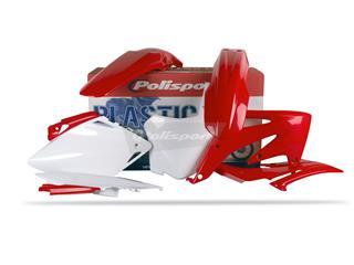 Kit plastique POLISPORT couleur origine Honda CRF450R - PS211ST18