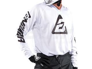 T-shirt ANSWER Elite Solid Branca Tamanho XL - 802101347171