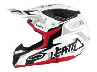 LEATT GPX 5.5 Helmet Composite White/Black/Red Size M  - 7da24547-424e-44cb-83b8-1fe618a5d1b1