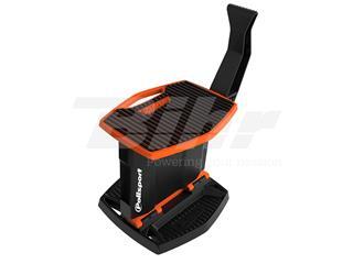 Bancada dobrável móvel de plástico Polisport laranja 8982700002