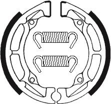 Machoires de frein TECNIUM BA020 organique