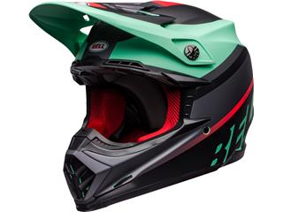 BELL Moto-9 Mips Helm Prophecy Matte Green/InfraRed /Black Größe S