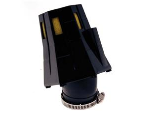 BIHR Air Filter 30° with Cap Black/Yellow