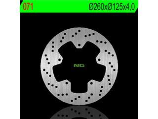 Disque de frein NG 071 rond fixe - 350071