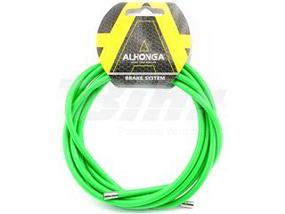 Funda cable acero laminado Ø5 Verde 2m