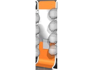 Support pour Mirroir - solution murale présentoir casques Origine - OR991003B