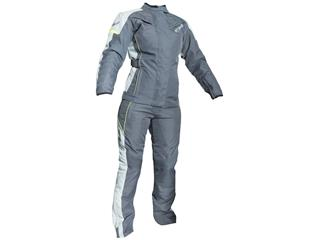 RST Ladies Gemma Jacket Textile Grey/Flo Yellow Size XL Women - 7ea65533-945d-4a21-a826-335868453ef9