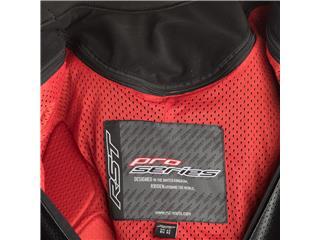 RST Race Dept V Kangaroo CE Leather Suit Short Fit Black Size YXL Junior - 7ec8f3a1-91d6-4f48-a39e-21f207b3df7a