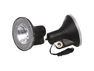 FRONT LIGHT CAVO HUB DYNAMO/INCL.BR BLACK