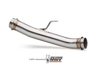MIVV Stainless Steel No-Catalyzer Pipe Honda X-ADV 750