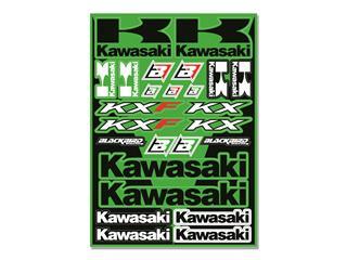 Planche de stickers BLACKBIRD Kawasaki - 78102168
