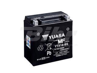 Batería Yuasa YTX16-BS Combipack (con electrolito)
