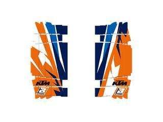 Adhesivos para rejillas de radiador Blackbird KTM Trophy 2017  A502R14