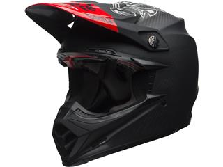 Casque BELL Moto-9 Flex Fasthouse Matte Black/Red taille XS - 7095564