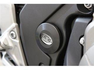 Insert de cadre gauche R&G RACING noir Honda VFR1200F/FD