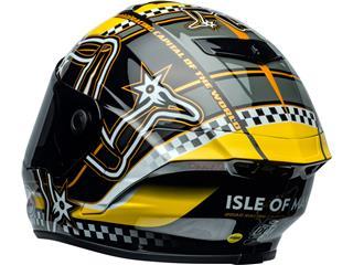 BELL Star DLX Mips Helmet Isle of Man 2020 Gloss Black/Yellow Size M - 801448f1-367c-4a8f-93f5-15f4f898a6df