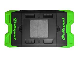 Tapis récupérateur pliable POLISPORT Bike Mat bicolore vert/noir - 801ddf77-2196-4af6-ae9d-1264e29c403c