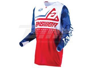 T-shirt ANSWER Elite Discord Vermelha/Branca Tamanho XXL - 802100110372