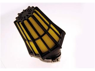 BIHR Air Filter 30° Black/Yellow