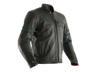Veste cuir RST Hillberry CE vert taille S homme - 814000080468