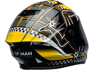 BELL Star DLX Mips Helmet Isle of Man 2020 Gloss Black/Yellow Size XS - 80aa4127-dca2-4222-b32a-87e2304c41ef