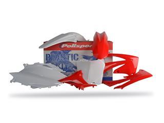 Kit plastique POLISPORT couleur origine Honda CRF250F/CRF450F