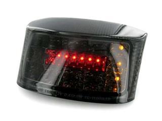 LED ACHTERLICHT BOOSTER 04-   ZWART + GEINT KNIP.LICHT  CE-GOEDGEKEURD