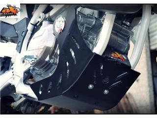 AXP Enduro HDPE Skid Plate Black Husqvarna
