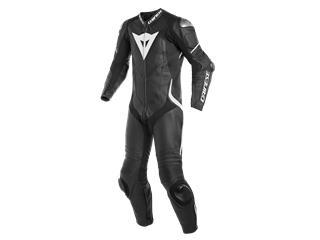Leather Suit Dainese Laguna Seca 4 1Pc Perf. Blk/Wht Sz 46