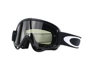 Masque OAKLEY XS O Frame MX Sand Jet Black écran Dark Grey + transparent
