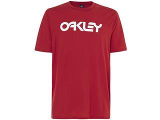 Camiseta OAKLEY MARK II Manga Corta,  Rojo, Talla XL