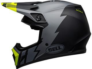 Casque BELL MX-9 Mips Strike Matte Gray/Black/Hi Viz taille XL - 81ad1886-1c04-44c2-ba31-1c82af2c888b