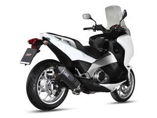 MIVV SPEED EDGE Steel Black Slip-On Honda Integra 700