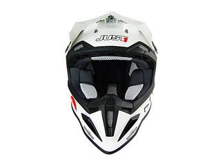 JUST1 J12 Helmet Solid White Size M - 81decc2b-b3f6-485d-9cf6-7437c69c23fb