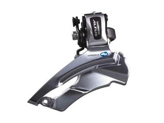 FRONT DERAIL. SHIMANO ALTUS 313/DOWN PULL 34.9MM/SILVER