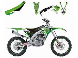 Kit complet BLACKBIRD Dream Graphic 3 Kawasaki KX250F - 7805148