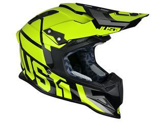 JUST1 J12 Helmet Unit Neon Yellow Size L - 623911L