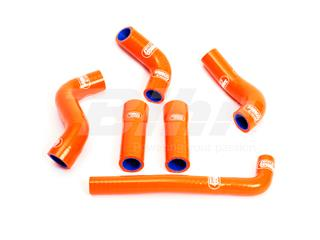 Kit manguitos Samco KTM naranja KTM-6-OR