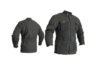 RST IOM TT Classic III 3/4 Jacket CE Waxed Cotton Black Size S Women - 82506fc0-ebcd-4151-ad7d-4940d3c4a6dc